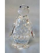 """Swarovski Crystal Figurine 7643 NR85 Penquin 3 1/4"""" Swan in Original Box - $35.53"""