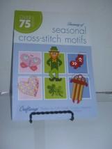 Craftways Treasury Of Seasonal Cross Stitch motifs Over 75 designs  2009 - $6.43