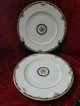 Wedgwood OSBORNE R4699 Set of 2 Dinner Plates FREE SHIPPING - $52.47
