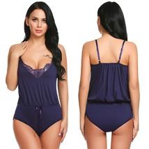 Women Teddy Lingerie Lace Babydoll Sleepwear Chemise One Peice Bodysuit ... - $39.95