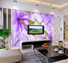 3D Lila Raum-Design 45679 Fototapeten Wandbild Fototapete BildTapete FamilieDE - $52.21+
