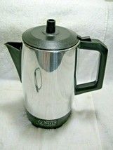 Vintage Collectible WEST BEND 5-9 Cup Electric Percolator Coffee Maker-D... - $29.50