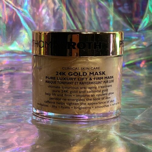 NWOB 50mL Peter Thomas Roth 24k Gold Lift And Firm Luxury Mask (1.7oz)