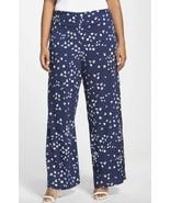 JESSICA SIMPSON Plus sizes 1X 2X Slit Wide Leg Pants Lightweight Summer - $18.57