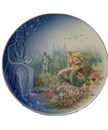 Mermaid Art Print Plate, The Little Mermaid Porcelain Plate - $24.99