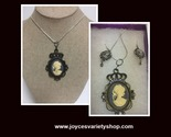 Cameo necklace   earrings web collage thumb155 crop