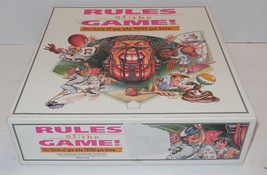 Rules of the Game! For those who THINK they know 100% Complete - $14.03
