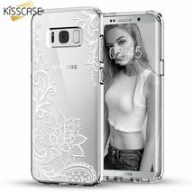 KISSCASE® Case For Samsung Galaxy S8 S9 Plus Note 9 8 Cover Retro Lace - $3.94+