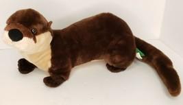 "Wild Republic River Otter Plush Stuffed K&M International 15"" Animal - $15.00"