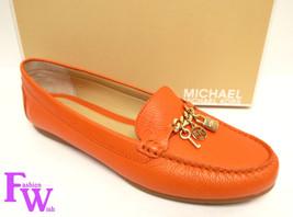 New MICAHEL KORS Size 10 SUKI Orange Leather Lo... - $79.00