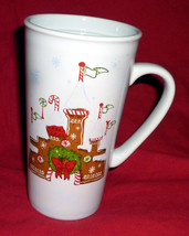 Disney Parks Gingerbread Castle 2017 Christmas Holiday Starbucks Mug - N... - $12.95