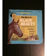 The Story Of Black Beauty Walt Disney 33RPM With Book  - $19.80