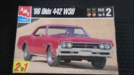 AMT 1966 OLDSMOBILE TRI POWER 442 W30 AOR ©2000 ISSUE PLASTIC MODEL CAR KIT - $24.99