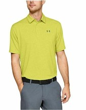 Under Armour Men's Playoff Golf Polo 2.0, Lima Bean/Pitch Gray, X-Large - $32.99