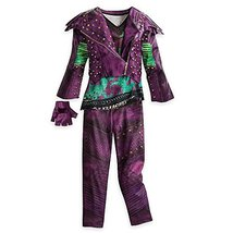 Disney Mal Costume for Kids - Descendants 2 Size 5/6 - $1.150,14 MXN