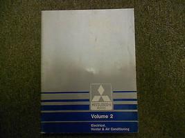 1987 Mitsubishi Van Wagon Service Shop Manual Fabrik Oem Vol 2 Elektrisch Deal - $40.57