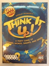 Think It Up! By Nikolay Pegasov Party Game Brand New Sealed Free Shipping - $12.95