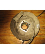 KAWASAKI 1997 BAYOU 300 2X4  LEFT REAR BRAKE BACKPLATE  (BIN 89) P-3790L... - $20.00