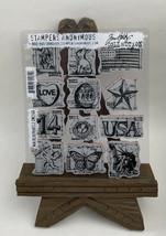 Tim Holtz Cling Rubber Stamps MINI BLUEPRINTS 2 CMS146 - $27.42