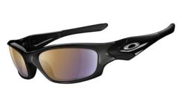Oakley Sunglasses Straight Jacket Polished Blk w/Shall Blue Iridium Polar24-018 - $215.55