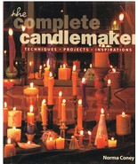 The Complete Candlemaker Book by Norma Coney - $9.75