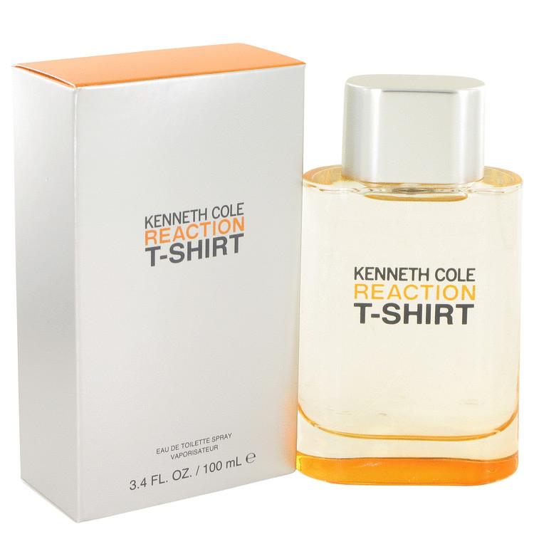 Kenneth Cole Reaction T-Shirt 3.4 Oz Eau De Toilette Cologne Spray image 6