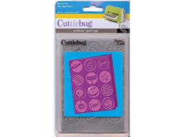 Provo Craft Cuttlebug Embossing Folder Boo to You #37-1903