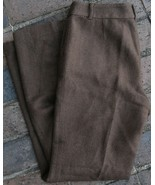 Ralph Lauren Classic Trouser Petite Sanderson 6 Womens Pants 100% Wool N... - $44.99