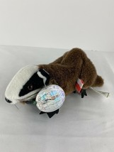 Coca Cola International Collection Plush Badgey The Badger Czech Republic 1999 - $5.05