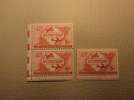 USPS Scott C47 6c 50TH Anniversary Of Powered Flight 1953 Mint NH OG 3 S... - $4.43