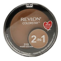 Revlon Colorstay 2-in-1 Compact Makeup & Concealer - 310 Warm Golden - $4.99