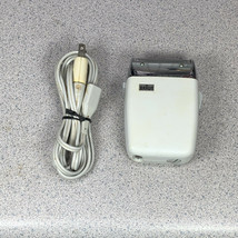 Rare VTG 1970s Braun SM3 Electric Shaver White Made In Germany Tested USA Case - $29.69