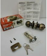 New In Box Mountain Security Keyed Entry Polished Brass Door Knob 3007-109 - $13.98