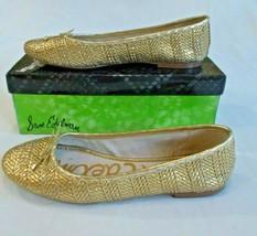 Sam Edelman Women's Falcon Gold Flats Size 10 - $25.51