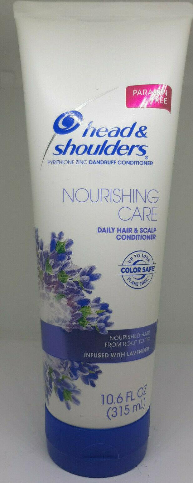 Head & Shoulders Nourishing Care Lavender Conditioner Color Safe 10.6 oz NEW - $12.82