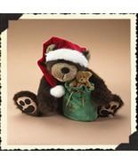 "Boyds Bears ""Bubba Kringle"" #919875- 14"" Plush Bear- BBC Exclusive- 2006 - $59.99"