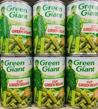 6Pk Green Giant Cut Green Beans Cans *~* FAST FREE SHIPPING ! *~* - $21.66
