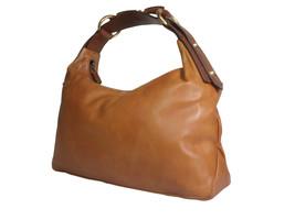 Authentic GUCCI Leather Brown Shoulder Bag GS10013L - $259.00