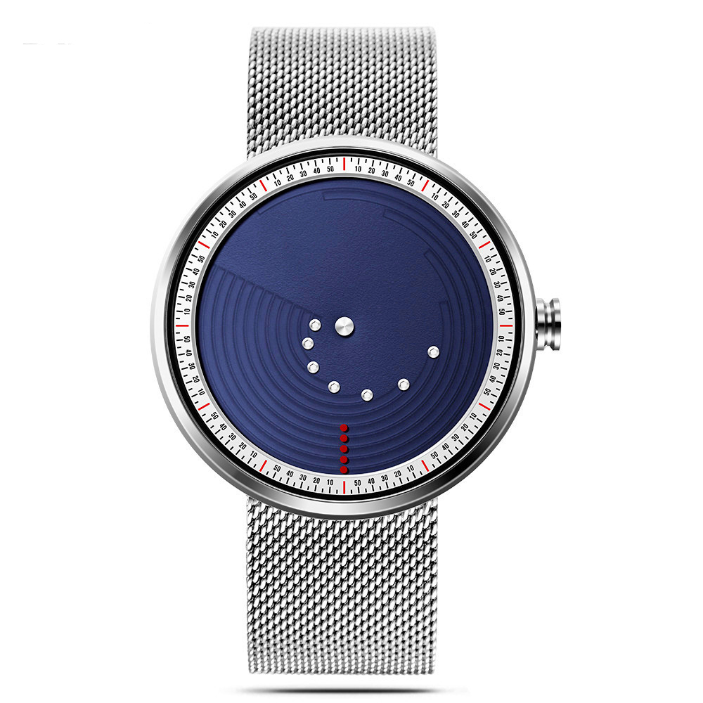 SINOBI 9768 Ultrathin Space-time Creative Watches Fashionable Stainless Steel St