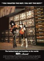 KISS Band Paul Stanley - Ace Frehley Marshall Amps Stand-Up Display - Gi... - $16.99