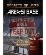 Secrets of UFO'S: Area-51 Base DVD ( Ex Cond.)  - $8.80