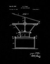 Drytoilet And Sealer Patent Print - Black Matte - $7.95+