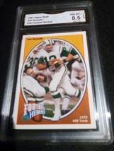 1991 Upper Deck Joe Namath GMA Graded 8.5 NM-MT Football Heroes Card 16 - $6.49