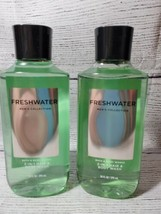 "2 - Bath & Body Works ""FRESHWATER"" Mens 2 in 1 Hair & Body Wash - $24.95"