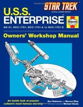 U.S.S. Enterprise Haynes Manual (Star Trek) [Hardcover] [Nov 02, 2010] R... - $17.50