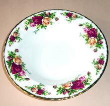 "Royal Albert Old Country Roses Rim Soup Bowl 8"" New - $26.90"