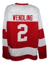Custom Name # Team Japan Retro Hockey Jersey New Red Any Size image 5
