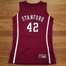New Nike Youth M Stanford Cardinals Front Court Game Jersey #42 Maroon - $20.98