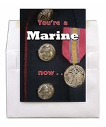 A Marine Now - US Marine Corps Boot Camp Graduation Greeting Card With E... - $6.69