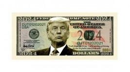 Pack of 50 - Donald Trump For President 2024 Collectible Novelty Dollar ... - $14.80